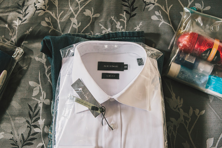 Wedding, Groom's shirt, accessories