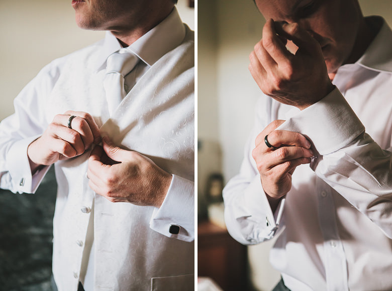 Perth hills wedding Groom vest, groom cufflinks