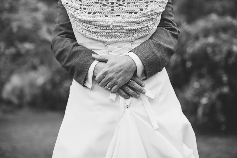 elegant bride groom hands, perth hills wedding