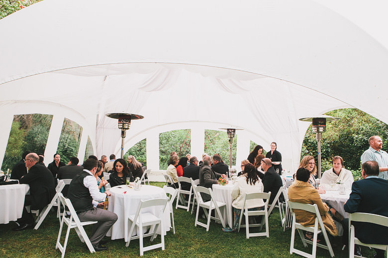 Wedding photo dome marquee