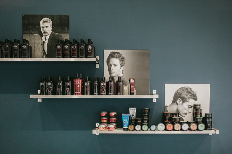 hairdressing salon ella for hair shelves