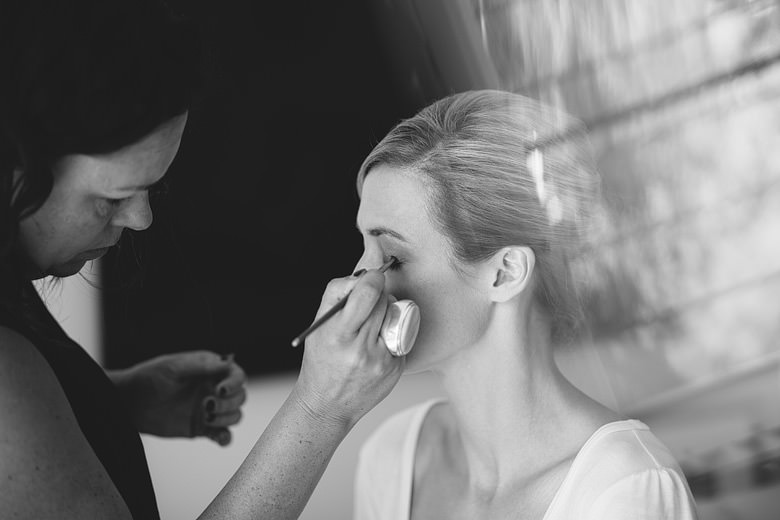 Bride makeup artist artistic wedding photography