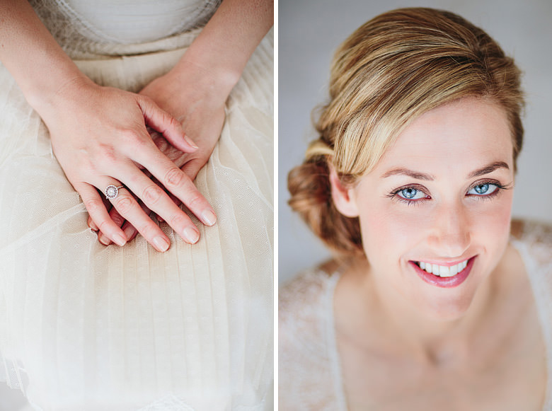 antique engagement ring, gorgeous bridal portrait