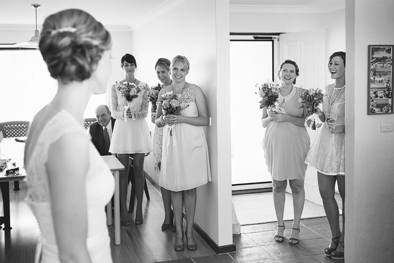bridesmaids unique candid moment photography