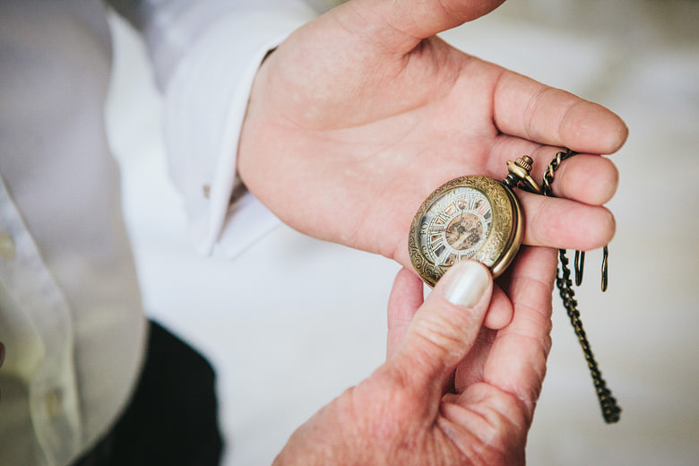 groom hand pocket watch vintage wedding