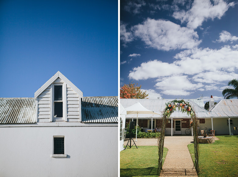 historical heritage Newtown house busselton wedding