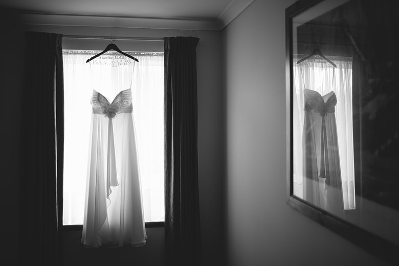 wedding dress creative photo