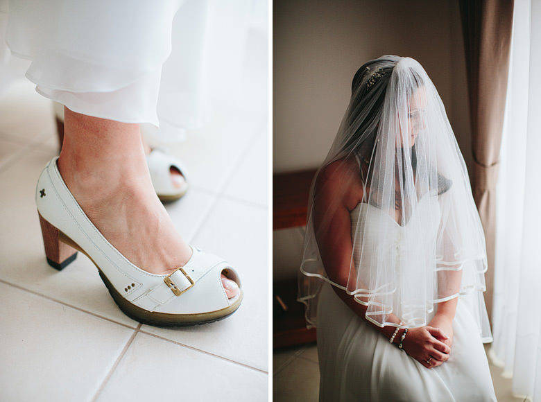 wedding shoes doc martens and bridal portrait