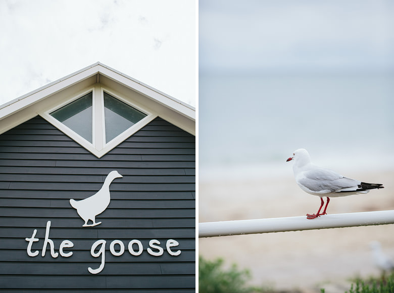 image of the goose restaurant in busselton before wedding
