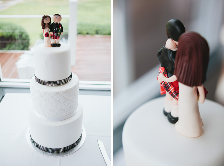 wedding cake photo in busselton western australia