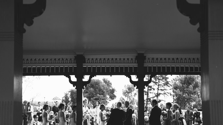 Ceremony at Kings Park Old Tea Pavilion