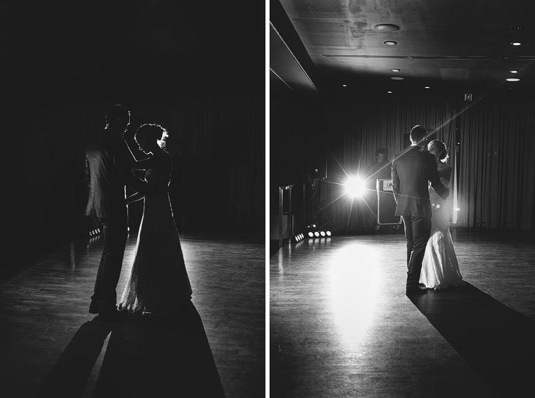 creative bridal waltz silhouettes