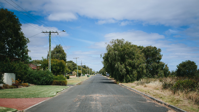 Busselton street view photography
